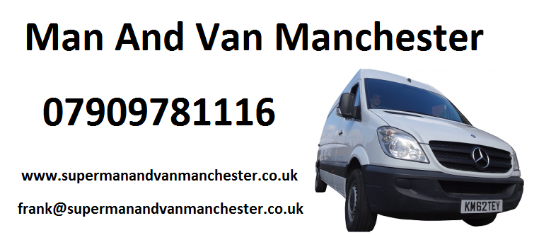 man and van manchester new van