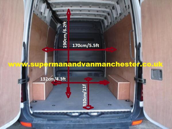 man-and-van-manchester-empty-van sizes