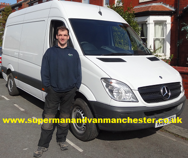 Super Man And Van Removals Hire Altrincham Manchester